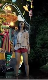 USJナイトパレード2018CM赤いショートパンツの美脚女優は誰?千田絵民の身長は?