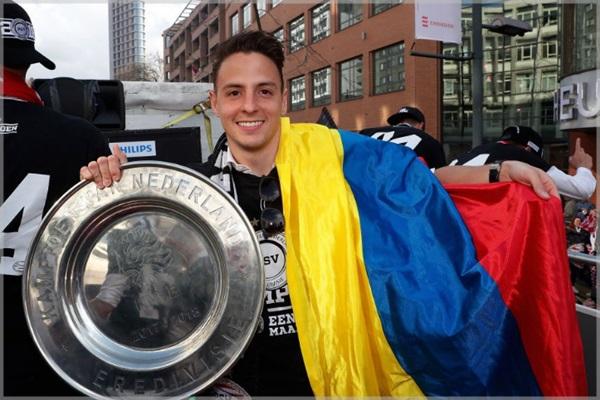 コロンビアのイケメン選手サンティアゴ・アリアスに嫁や子供はいる?筋肉の画像が話題!