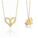 【ルパンの娘】深田恭子着用のネックレスのブランドはアーカー!ハートと蝶モチーフのドラマ衣装がかわいい!